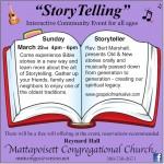 Matt Congo storytelling