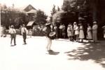 Abraham Skidmore Leading a Parade, undated. Courtesy of the Mattapoisett Historical Society